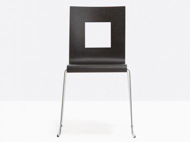 Kuadra 1308 PEDRALI Металлический стул