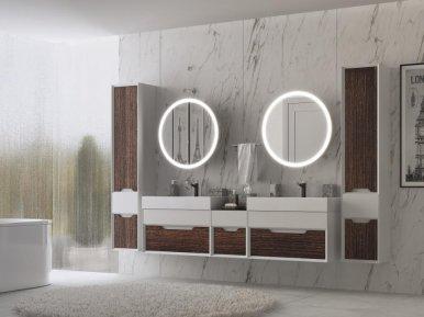 Ventidue Bianco Opaco / Venge Opaco Bagno Piu Мебель для ванной