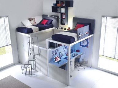 TIRAMOLLA COMP 909 TUMIDEI Мебель для школьников