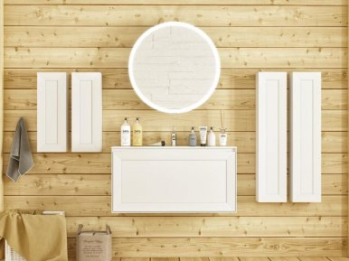 Millennio Bianco Opaco Bagno Piu Мебель для ванной