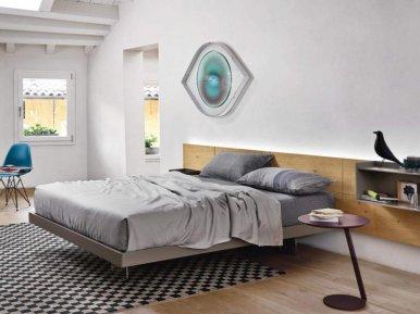 Ecletto Con Testiera Legno SANGIACOMO Кровать